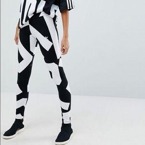 Bold age adidas originals leggings L
